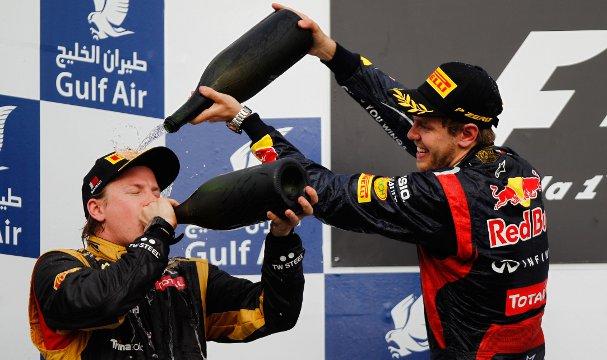 Vettel v Raikkonen - The Result