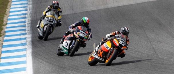 Marc Marquez, Pol Espargaro and Thomas Luthi - Photo Credit: MotoGP.com