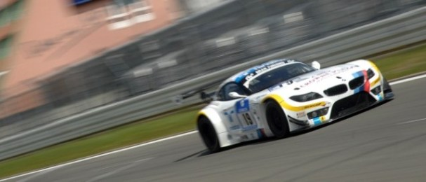 Uwe Alzen qualified the no.19 BMW Z4 in the new quick fire qualifying format (Photo Credit: Chris Gurton Photography)
