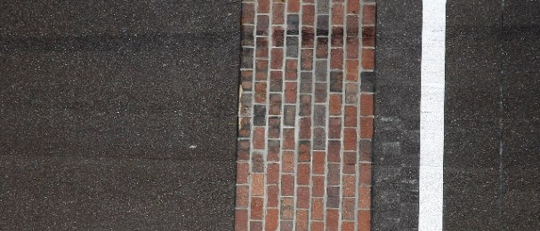 The trip to kiss the yard of bricks awaits the winner of the 96th Indianapolis 500 (Photo Credit: Dan Helrigel)