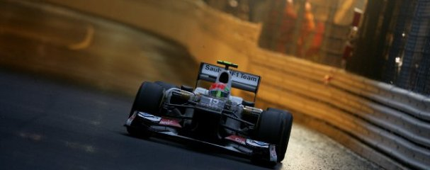 Perez finished only eleventh at the last race in Monaco, despite being the fastest man on the track during periods of the race - Photo Credit: Sauber Motorsport AG