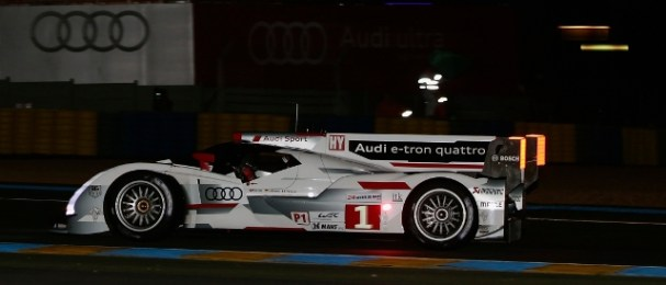 In setting the pole time Lotterer was the only man to lap below 3:24 (Photo Credit: Audi Motorsport)