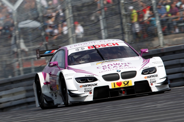 Now part of the brand's DTM set-up Andy Priaulx is already a winner for BMW at the Nurburgring (Photo Credit: DTM media)