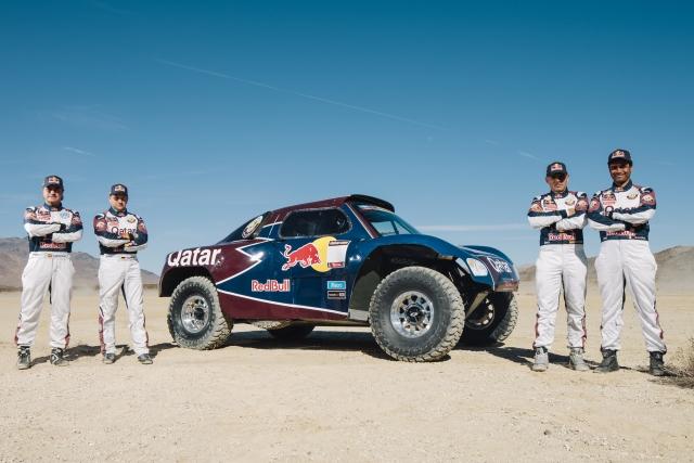 Qatar Red Bull Rally Team - Photo Credit: Tony Harmer/Red Bull Content Pool