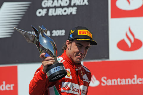 Alonso was the unlikely first double winner of the season (Photo Credit: ferrari.com)