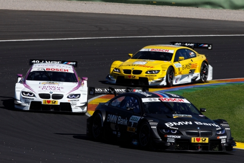 BMW's championship winning return to the DTM paddock was a popular choice for the best team performance of 2012 (Photo Credit: BMW AG)