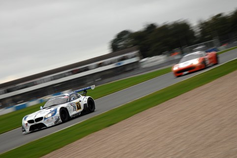 BMW and Ferrari would come to blows at Donington Park (Photo Credit: Chris Gurton Photography)