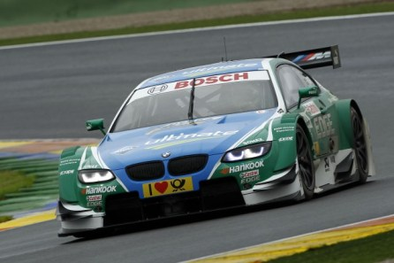 Augusto Farfus showed classic racing toward the end of the season (Image credit: DTM Media)