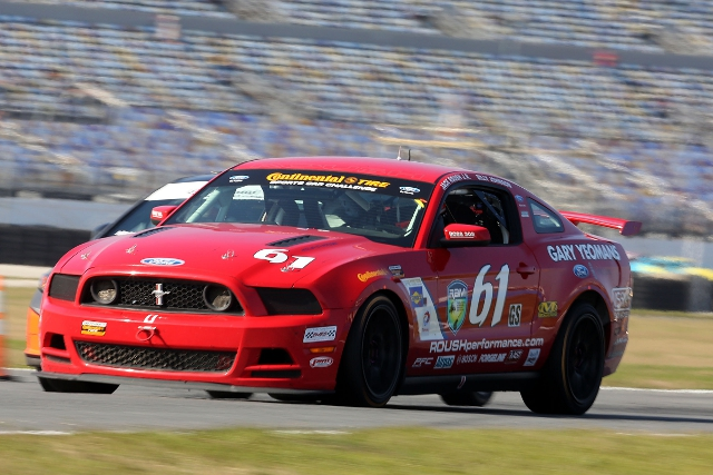Roush Jr. recovered from an early race punctures (Photo Credit: Grand-Am)
