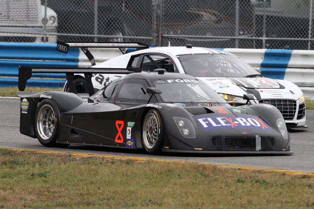 A five driver team is tasked with driving the #8 during the Rolex 24 (Photo Credit: Grand-Am)