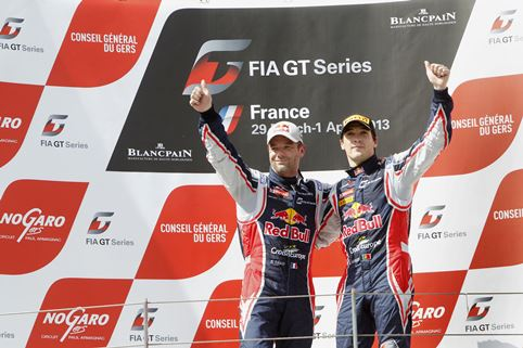 Sebastien Loeb and Alvaro Parente - Photo Credit: VIMAGES/Fabre
