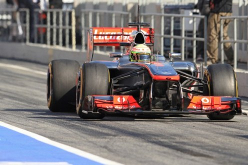 Perez has shown great spirit at McLaren, according to Paffett (Image credit: Octane Photographic)
