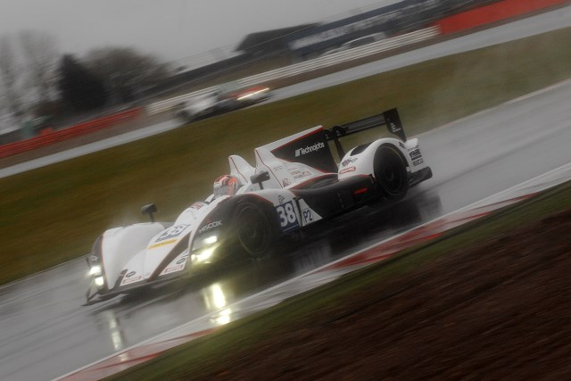 The Jota team survived the Silverstone rain to lead when the red flag came out (Photo Credit: Chris Gurton Photography)