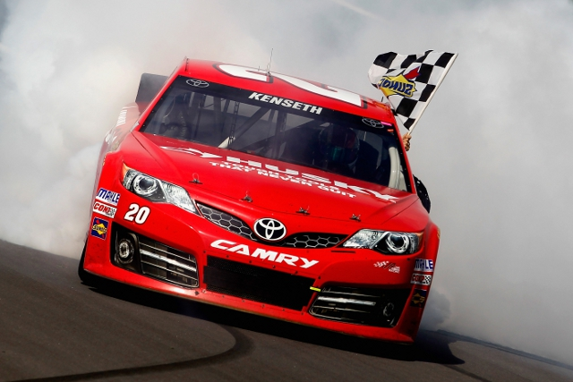 Kenseth's Kansas win will not count toward The Chase (Photo Credit: Jeff Zelevansky/Getty Images)