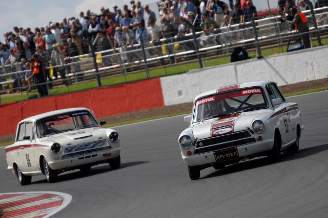 Star of the Under 2-Litre races the Lotus Cortina will celebrate its 50th anniversary (Photo Credit: Chris Gurton Photography)