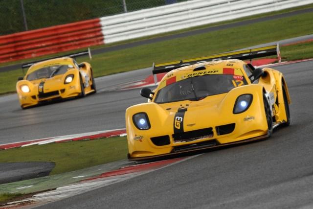 Both yellow Chevrons scored class podiums at Silverstone (Photo Credit: Chris Gurton Photography)