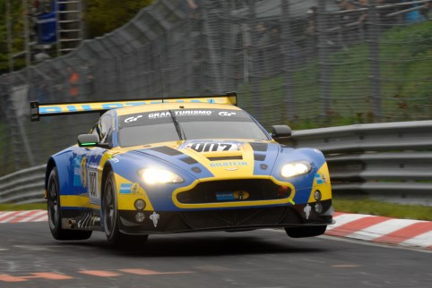 The Aston Martin Racing team were the surprise package of Sunday's racing (Photo Credit: Chris Gurton Photography)