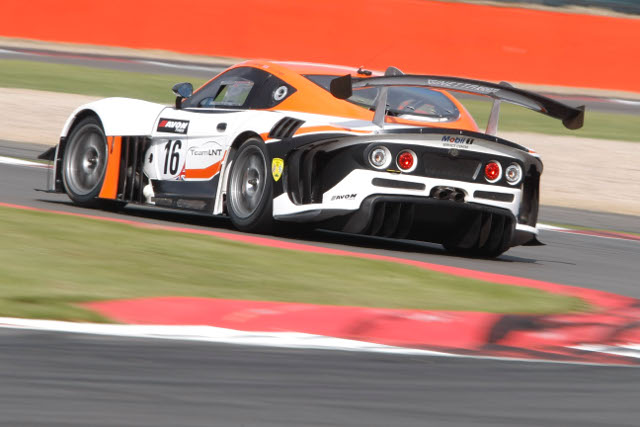 Problems in qualifying left Team LNT's G55 GT3 in harm's way (Photo Credit: Jakob Ebrey)