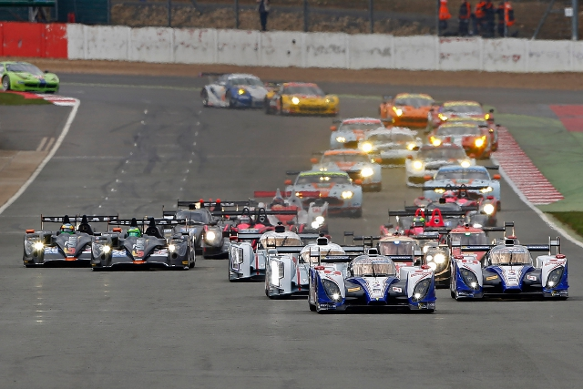 After starting at Silverstone the WEC pack races into the famous Spa track (Photo Credit: Jean Michel le Meur/DPPI)