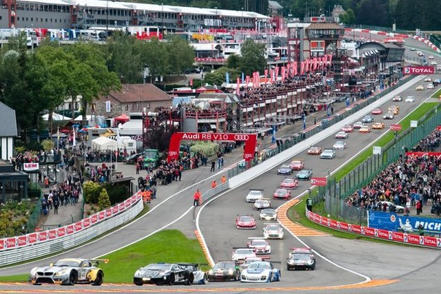More than 70 cars are expected for the biggest Spa 24 Hours field ever (Credit: Blancpain Endurance Series)