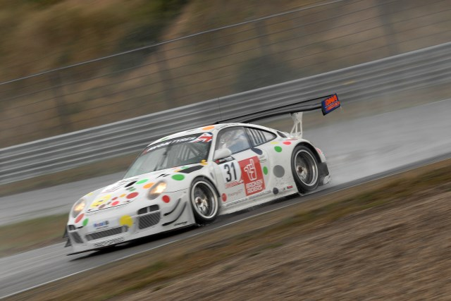 A wet Zandvoort dried out to leave a frantic last few minutes (Credit: Chris Gurton Photography)