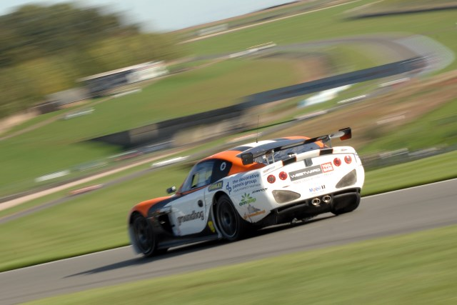 Third on the track was enough for Optimum Motorsport in GT4 (Credit: Chris Gurton Photography)