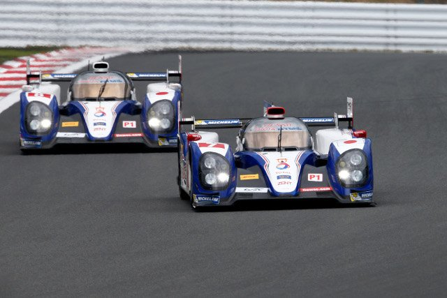 Kazuki Nakajima put the #7 TS030 Hybrid fastest in the final practice (Credit: Frederic le Floch/DPPI)