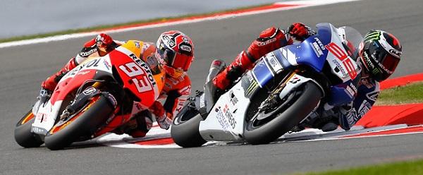 Marc Marquez and Jorge Lorenzo - Photo Credit: MotoGP.com