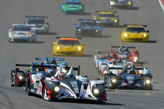 Muscle Milk Pickett Racing led the ALMS field for the final year (Credit: Kelsi Nilsson)