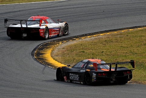 For the closing stages Action Express and Wayne Taylor Racing crews battled at the front of the field (Courtesy of IMSA)