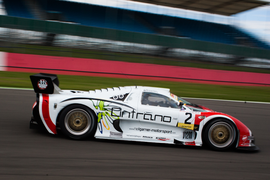 Britcar stalwarts Cintrano and Morcillo won the GT only event (Credit: Nick Smith)
