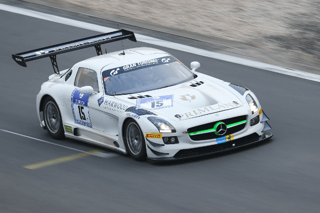 HTP Motorsport's overnight time held strong for pole position (Credit: ADAC Zurich Nurburgring 24 Hours)