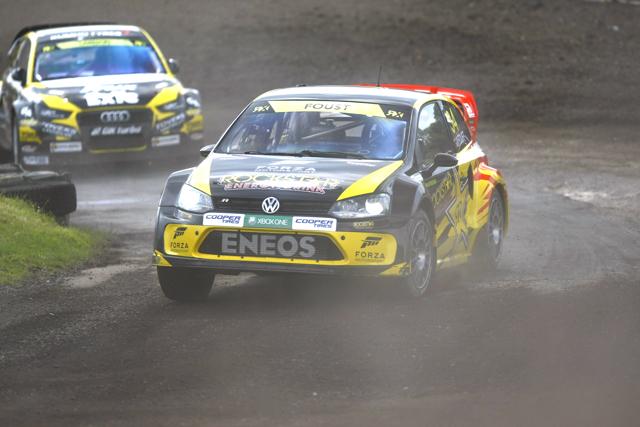 Tanner Foust - Marklund Motorsport - VW Polo
