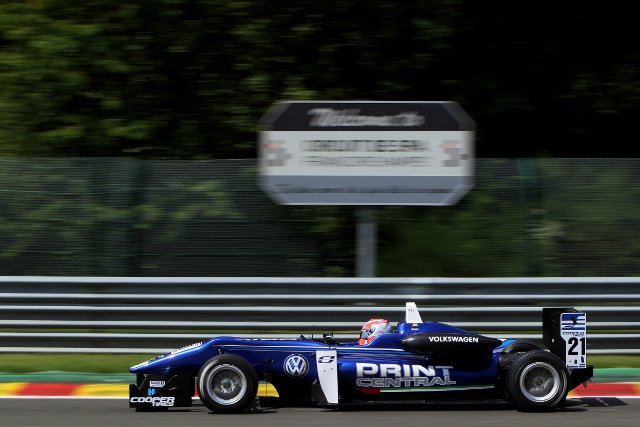 Jones dominated the session, taking both of the pole positions on offer (Credit: British G3 International Series Media)