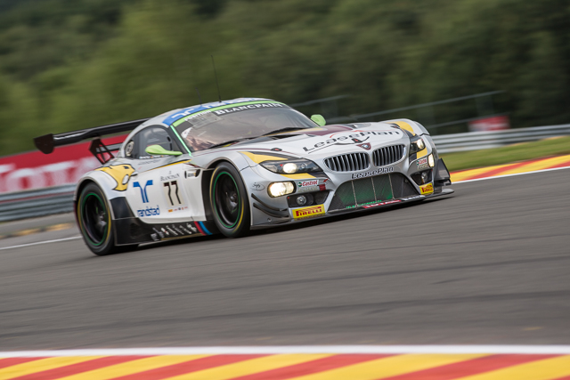 Last year, the #77 BMW Sports Trophy Team Marc VDS car finished 2nd. BMW will be hoping to improve on this result this year. (Credit: Kevin Mc Glone/Red Square Images)