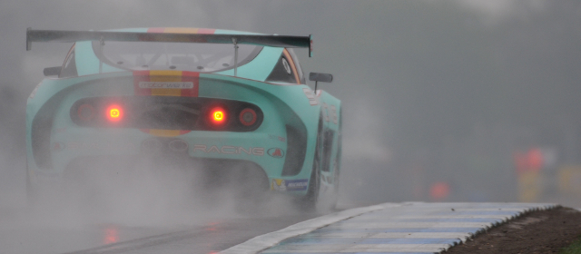 Massot's Victory In Tricky Wet Conditions At Donington Park Proved To Be A Rare Highlight From His 2014 Ginetta Campaign – Credit: Jakob Ebrey Photography