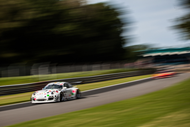 Nick Tandy only needed a handful of laps to move to the top (Credit: Tom Loomes Photography)