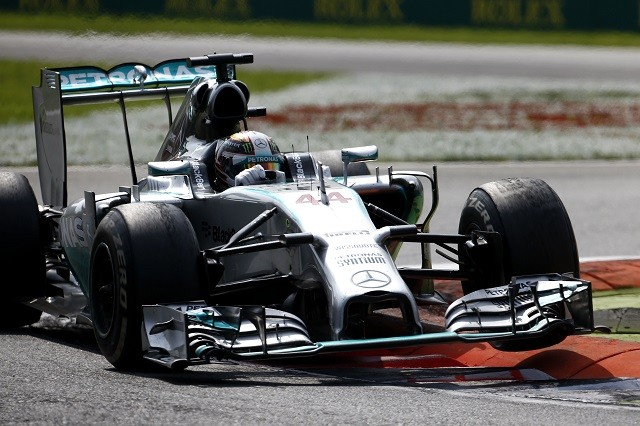 Lewis Hamilton took advantage of errors from his team-mate to win in Italy (Credit: MERCEDES AMG PETRONAS Formula One Team)