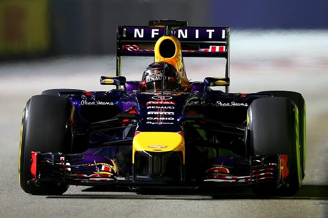 Sebastian Vettel took his best result of the season in Singapore, finishing second (Credit: Clive Mason/Getty Images)