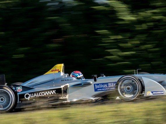 The Renault-Spark aids Formula E with its striking looks.
