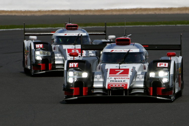 A triple stint from Andre Lotterer put the #7 crew in position to win (Credit: Audi Motorsport)