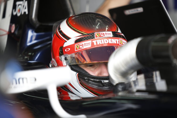 Will Marciello's switch to Trident be a stroke of genius? Only time will tell. (Credit: Sam Bloxham/GP2 Media Service)