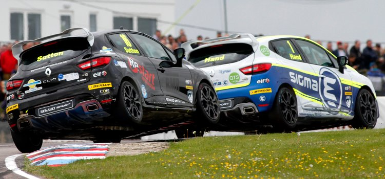 Sutton Followed Home Hand For A Team Pyro One-Two Double At Thruxton - Credit: Jakob Ebrey Photography