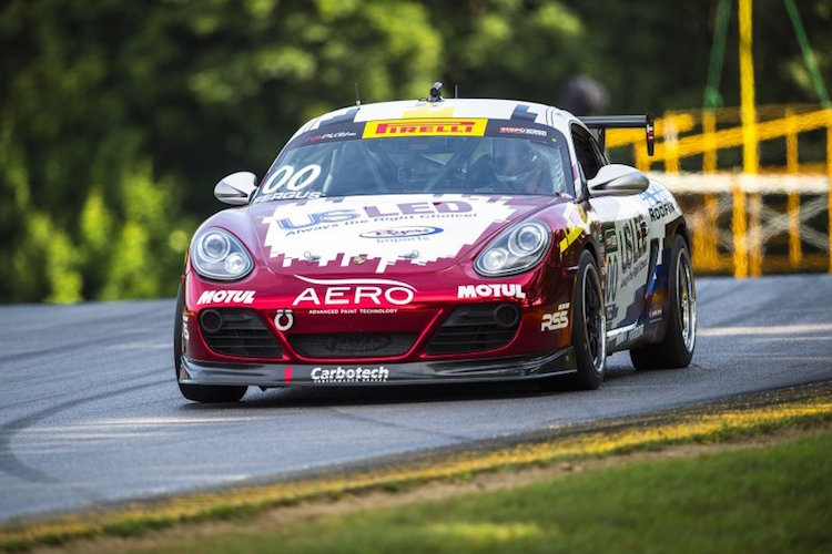 Fergus won the TC championship by 33 points in his Motorsports Promotions Porsche Cayman (Credit: WC Vision)