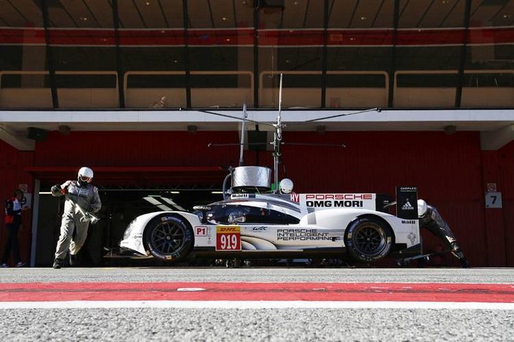 Pitstop practice - Credit: Porsche AG