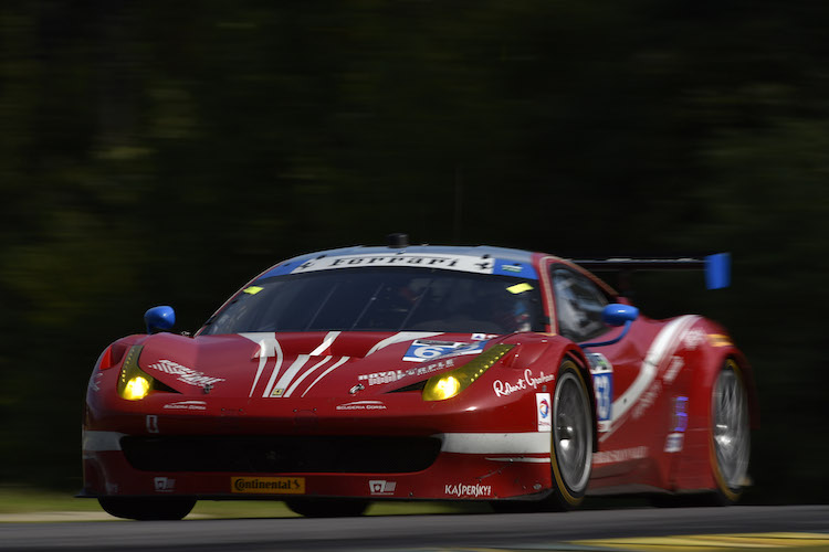 Scuderia Corsa's sole win of the season came at Virginia International Raceway (Credit: LAT Photo USA/IMSA)