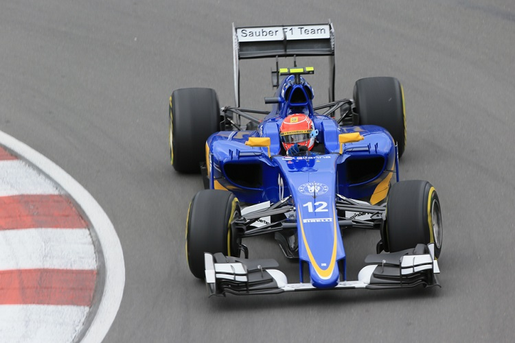 Felipe Nasr finished  the best of the Sauber drivers in 2015 (Credit: Octane Photographic Ltd)