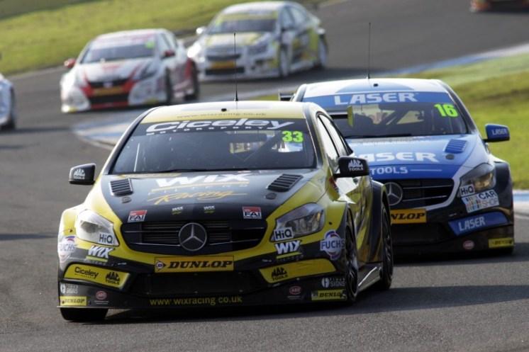 Moffat praised his partnership with fellow Mercedes driver, Adam Morgan (Photo: BTCC Media)
