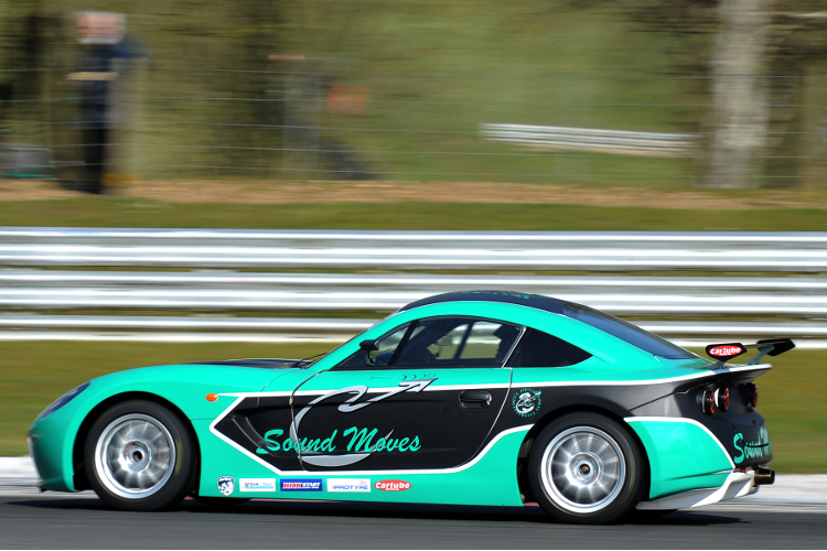 Fulk's Distinctive Green And Black G40 Will Make Selected Outings This Year - Credit: Jakob Ebrey Photography