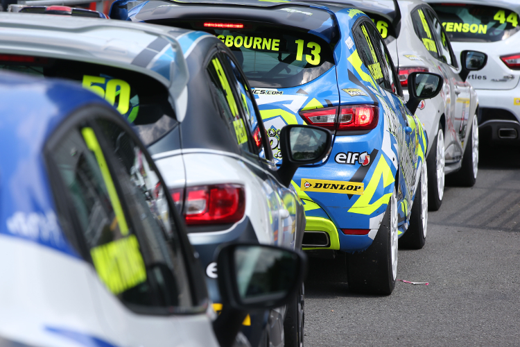 The Renault UK Clio Cup Returns To The Track Next Weekend - Credit: Jakob Ebrey Photography
